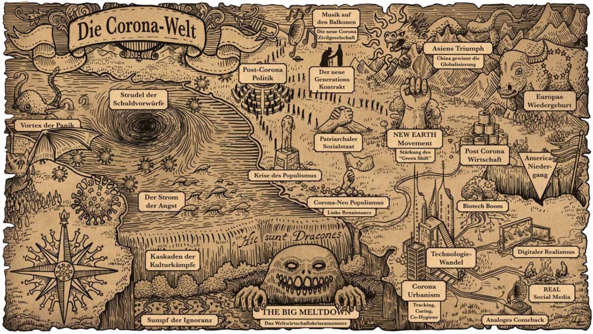 Julian Horx - Die Corona-Welt